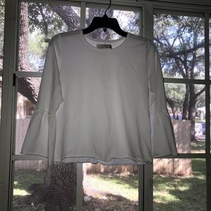 Abercrombie & Fitch Puffy Sleeve Top